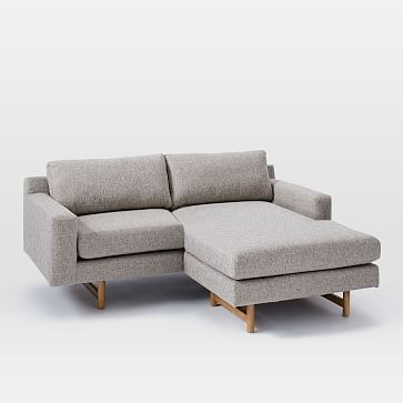 eddy sectional feather gray deco weave westelm sectionals rh pinterest com