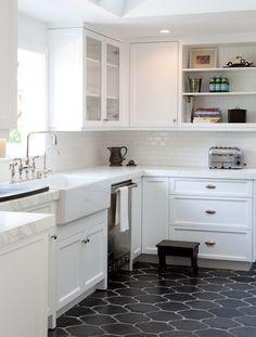 White Kitchen Floor Ideas amanda masters - a hollywood hills bungalow - desiretoinspire