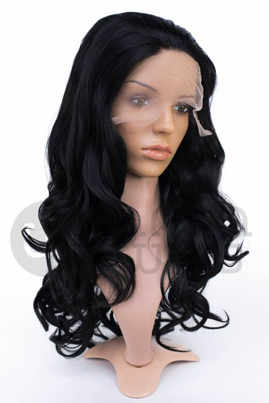 Matilda Classic Long Curls Crimped Hair Lace Front Wigs