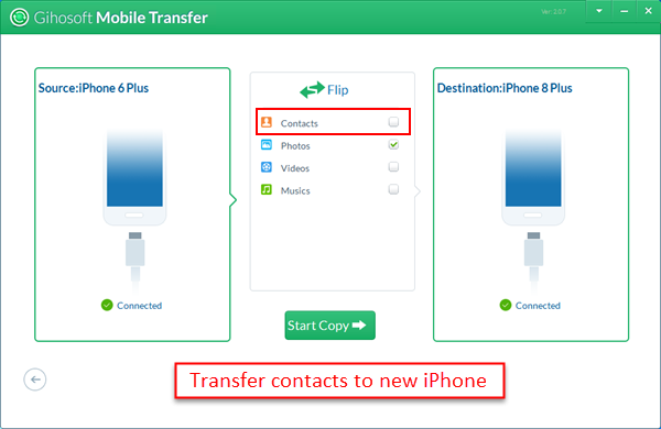 How to Transfer Contacts from iPhone to iPhone Iphone