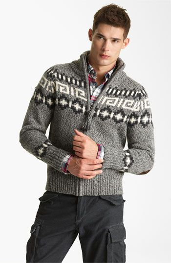 Gant by Michael Bastian Wool Zip Sweater available at #Nordstrom ...