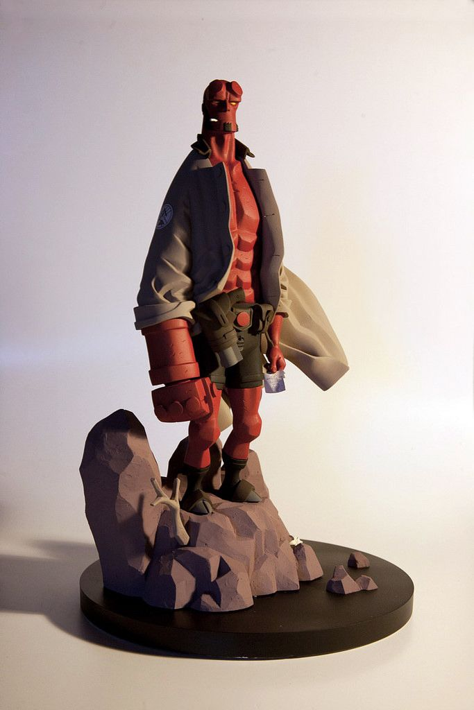 Mike Mignola Hellboy 1 6th Figurine Sculpture In 2019