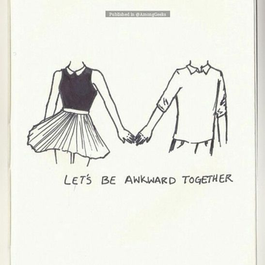Let's be awkward together . #Drawing #Relationship #Goals #Cuddles #Couple #Relationships #Anime #Manga #Otaku #Hipster #Gamer #Scene #Style #Nerdy #Adorable #Alternative #Nerd #Cute #Teen #Sweet #Always #Kiss #Comic #Tumblr #Romantic #Kawaii #Sweet #Geek #Bae #tattoo #relationship