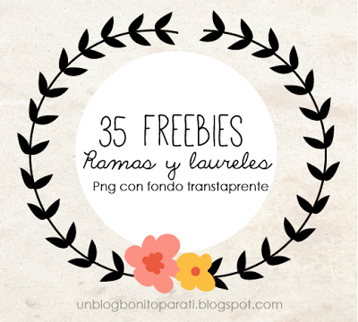 Freebies: Laureles y ramasvar ssyby='11.8.14'