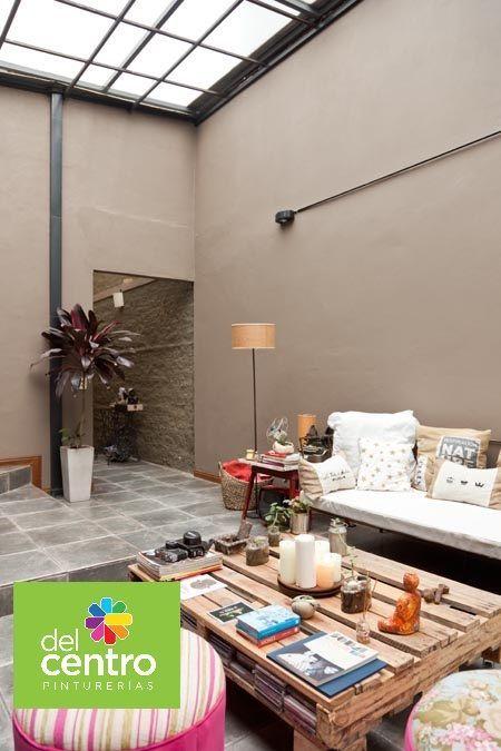 Resultado de imagen para patios interiores paredes colores CASA