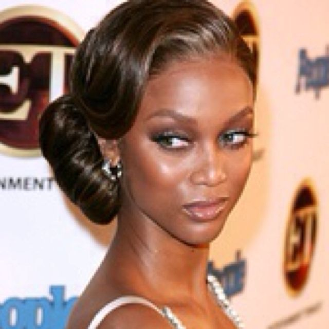 Tyra Banks Updo: Gatsby/vintage-inspired Hair