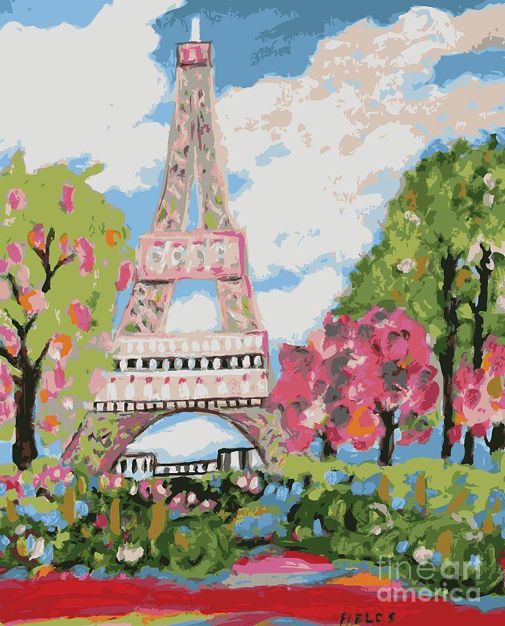 Definitely Visit France Eiffel Tower Dream Digital Art
