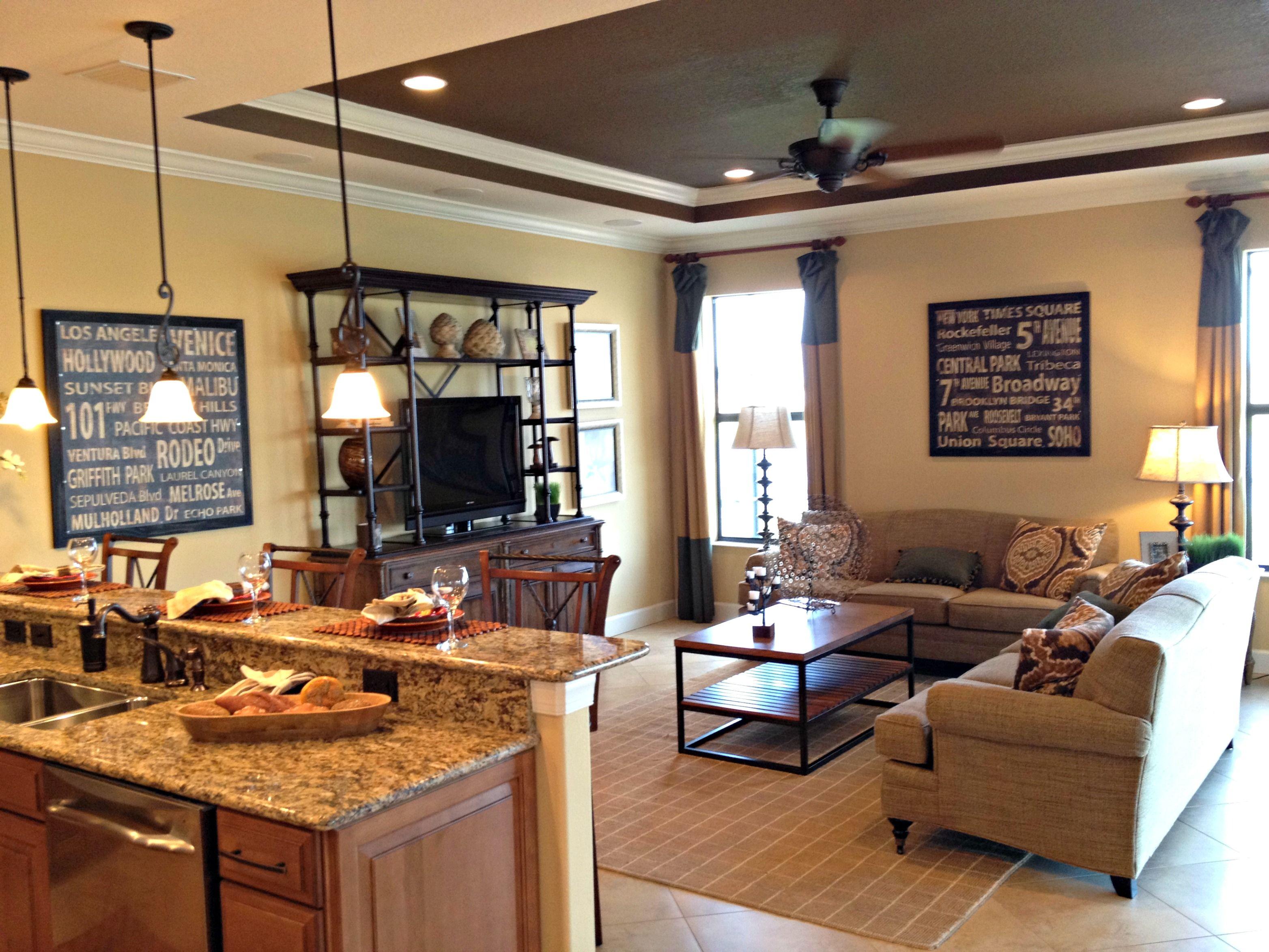 interior design ideas kitchen family room | kitchen interior design