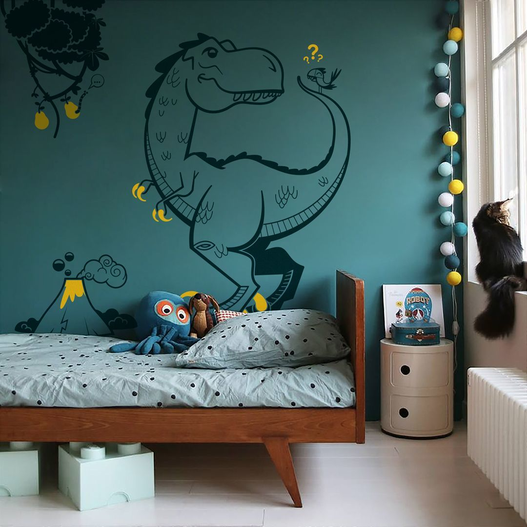 E-Glue offers a superb range of removable dinosaur wall decals : T
