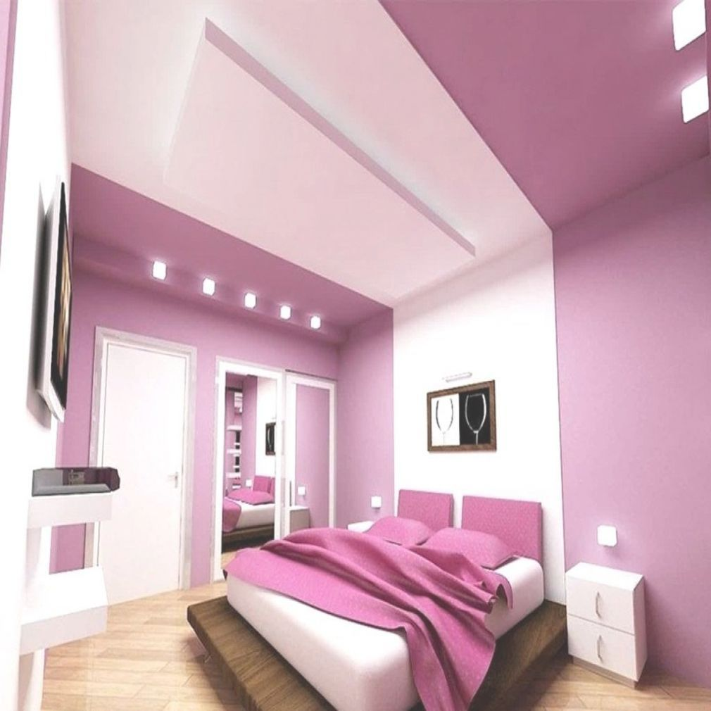 schlafzimmer violett gestalten Bedroom color combination