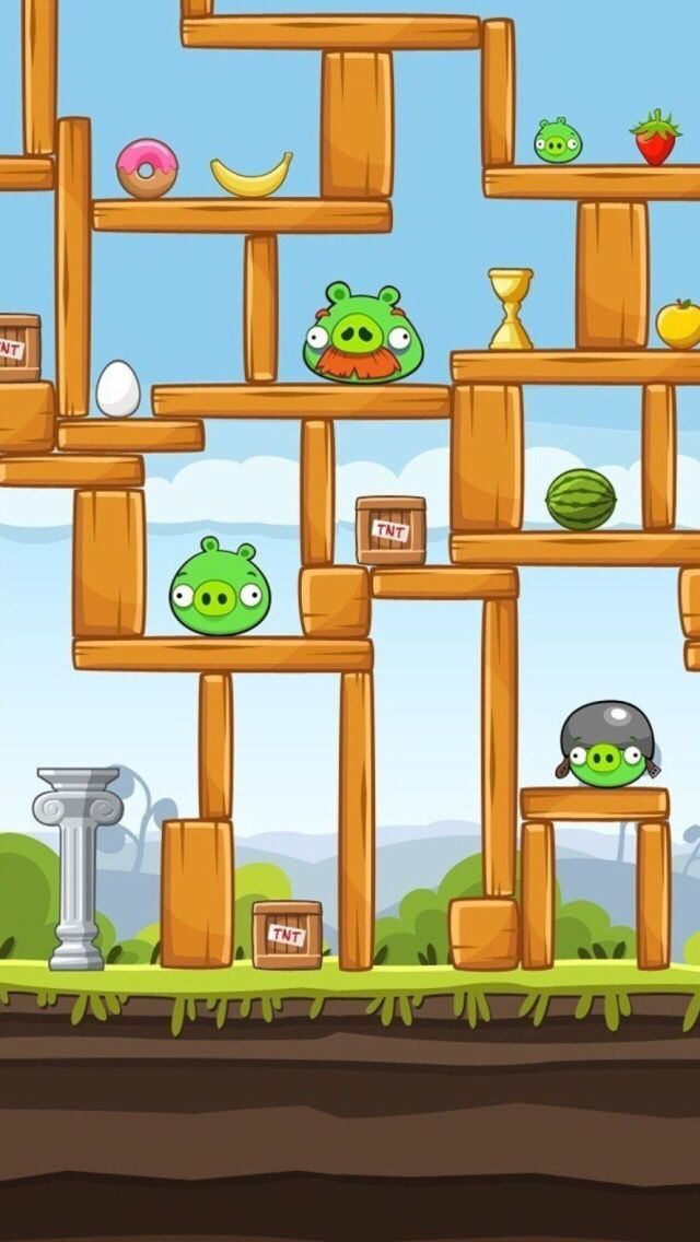 Angry Birds! | iPhone Wallpapers | Android, Angry birds y ...