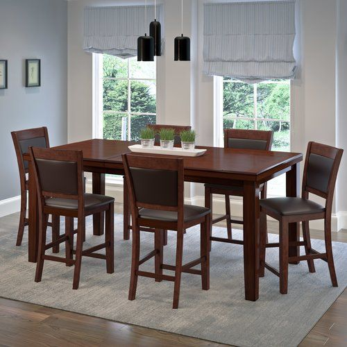 Terrific Found It At Wayfair Tegan 7 Piece Counter Height Dining Pdpeps Interior Chair Design Pdpepsorg
