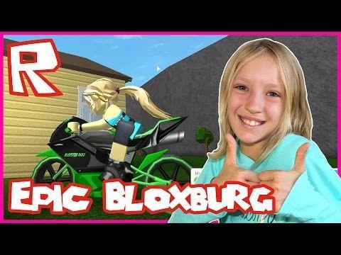 Sis Vs Bro Roblox Prison Roblox Welcome To Bloxburg X2f Epic Motorbike Youtube Gamer Girl Roblox Epic