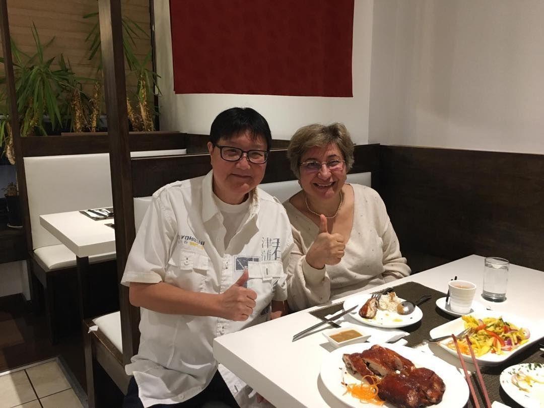 Dîner avec KK Chan restaurant chinois à Toronto . Comme
