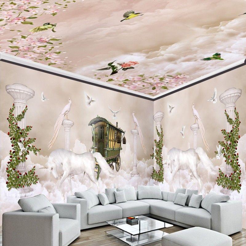 Cheap mural wallpaper buy quality wallpaper paint for Cheap living room wallpaper