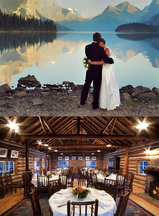 Malignelake Chalet Alberta Canada Canadian Wedding Venues Ontario Locations
