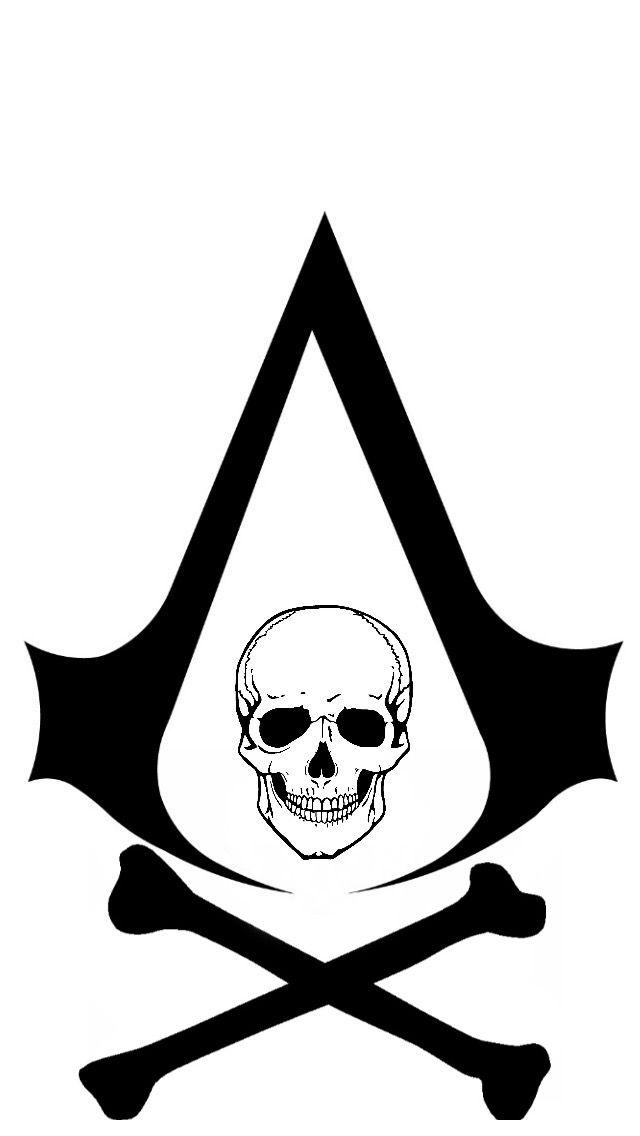 AC Black Flag symbol by ClarkArts24 | Assassin\'s Creed | Pinterest ...