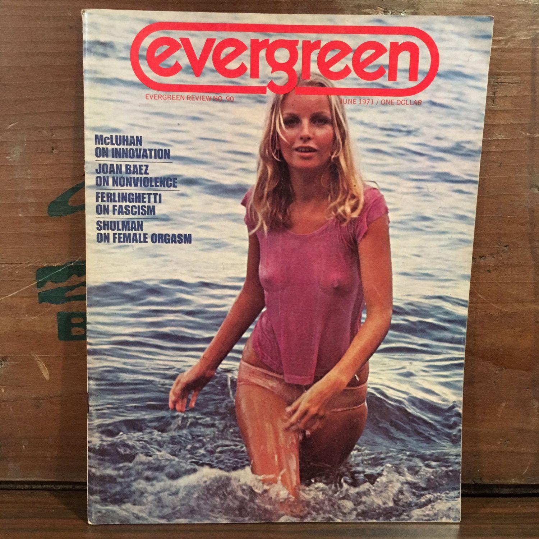 Evergreen review magazine no 90 june 1971 counter culture for Evergreen magazine