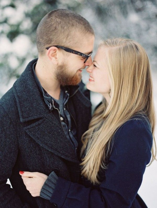 Winter Engagement session ideas