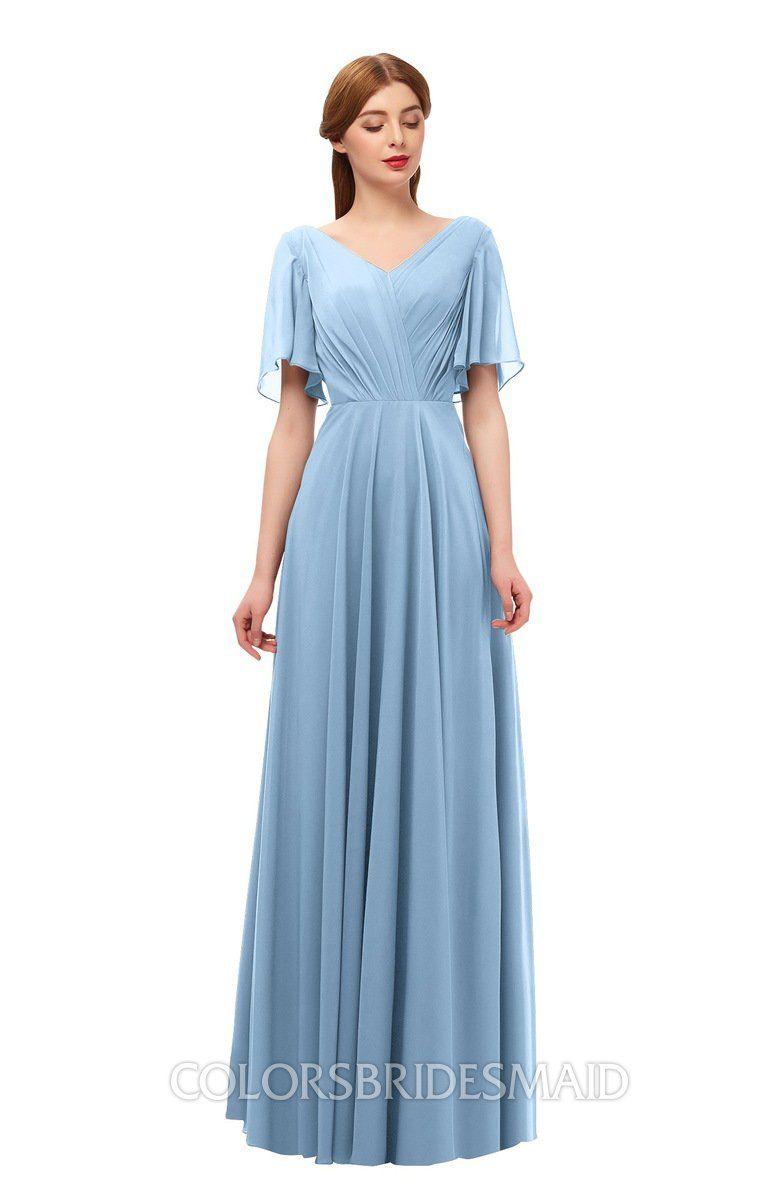 Colsbm Storm Dusty Blue Bridesmaid Dresses Dusty Blue Bridesmaid Dresses Bridesmaid Dresses With Sleeves Lace Bridesmaid Dresses [ 1200 x 781 Pixel ]