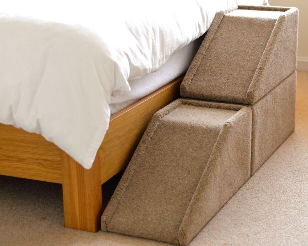 24 Quot 61cm Handmade Carpeted Wood Pet Ramp Steps