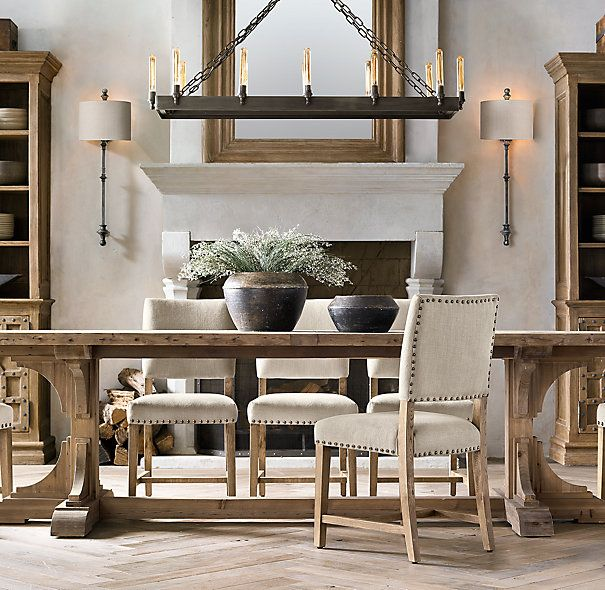 Restoration Hardware Kitchen Tables: San Sebastian Rectangular Chandelier 50""