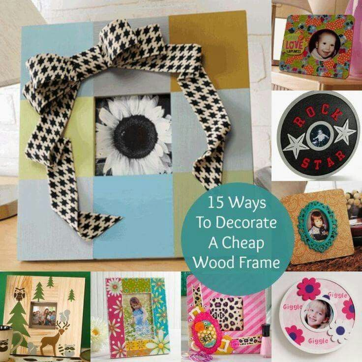 1 Wood Frame Ideas For Kids To Decorate Crafts For Kids Crafts