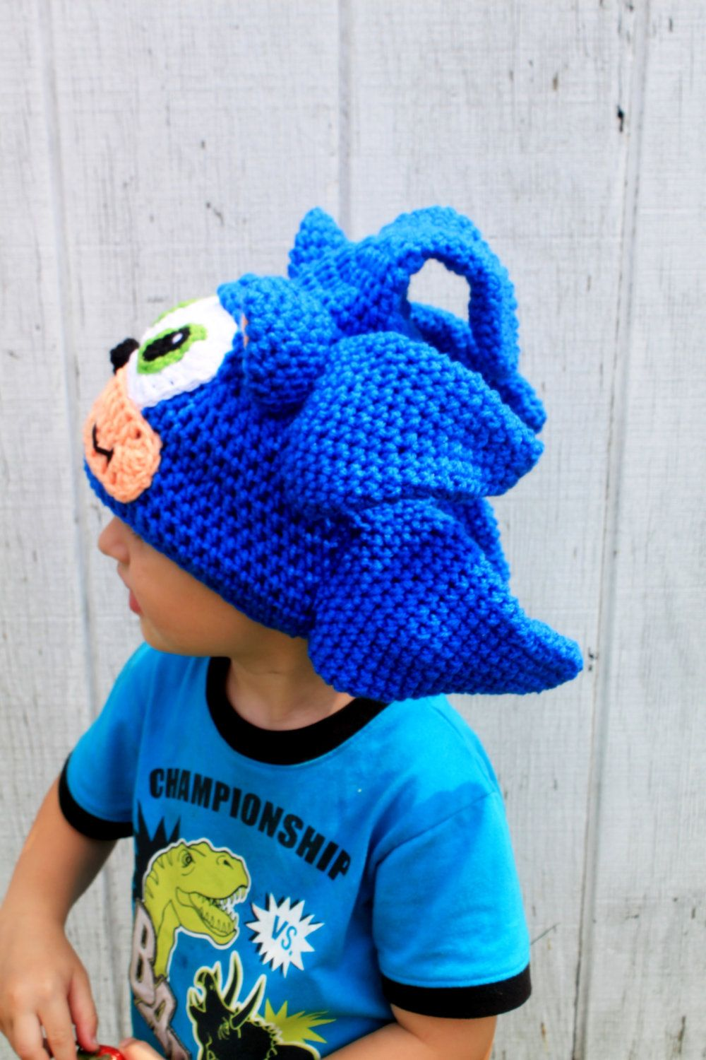Crochet Hat Sonic Hat And Shadow Hat 35 00 Via Etsy Crochet Crochet Hat Pattern Crochet Hats
