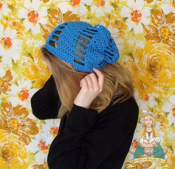 Unisex Spiral Beanie spring hat summer hat by BohoBunnies on Etsy