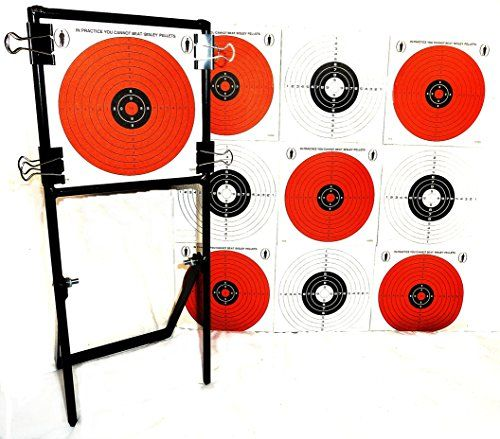 Airguns Air Rifle Airsoft Shooting 14cm Targets Holder For