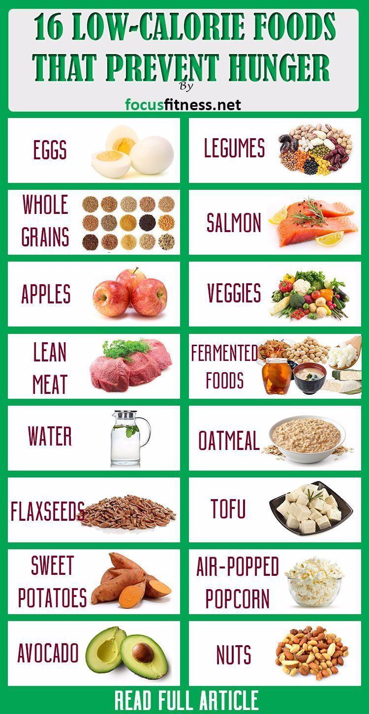 16 meistgefüllte kalorienarme Lebensmittel zur Verhinderung von Hunger - Focus Fitness - Diese kalor...