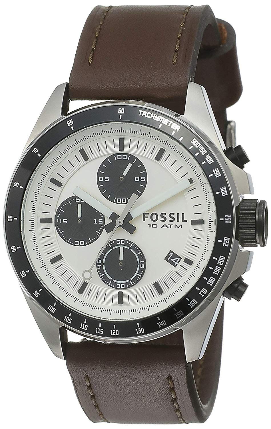 b26f43942 Buy Fossil Chronograph Silver Dial Men s Watch-CH2882 Online at Low Prices  in India - Amazon.in