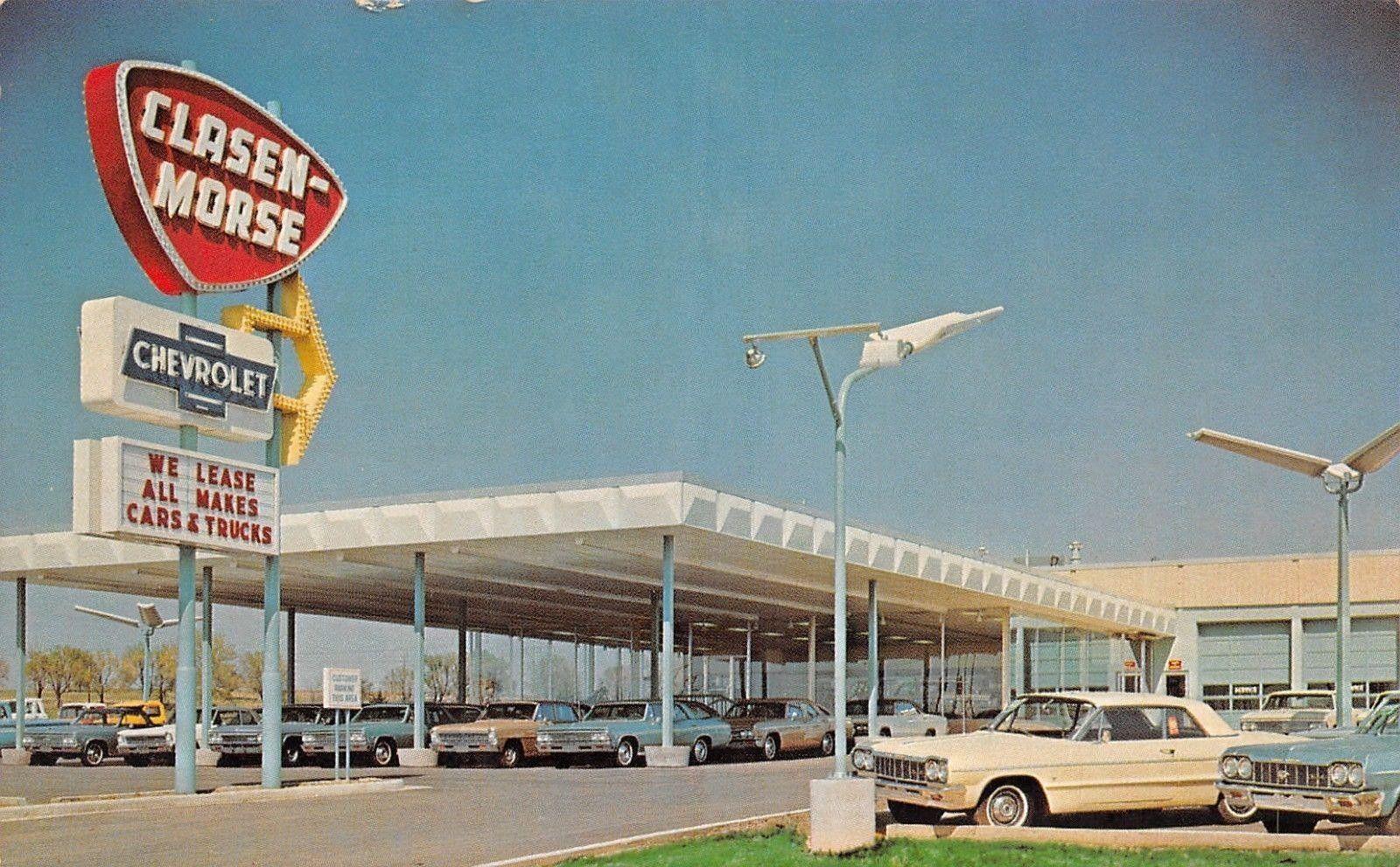 1964 Clasen Morse Chevrolet Inc Dealership Overland Park Kansas Car Dealership Overland Park Chevrolet