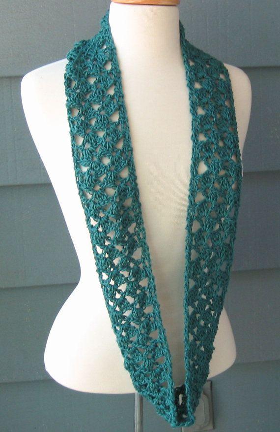 IVEY Infinity Scarf Crochet PATTERN by by PurpleStarDust on Etsy ...