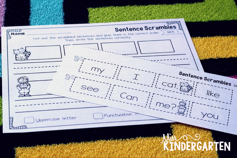 Sentence Building Practice