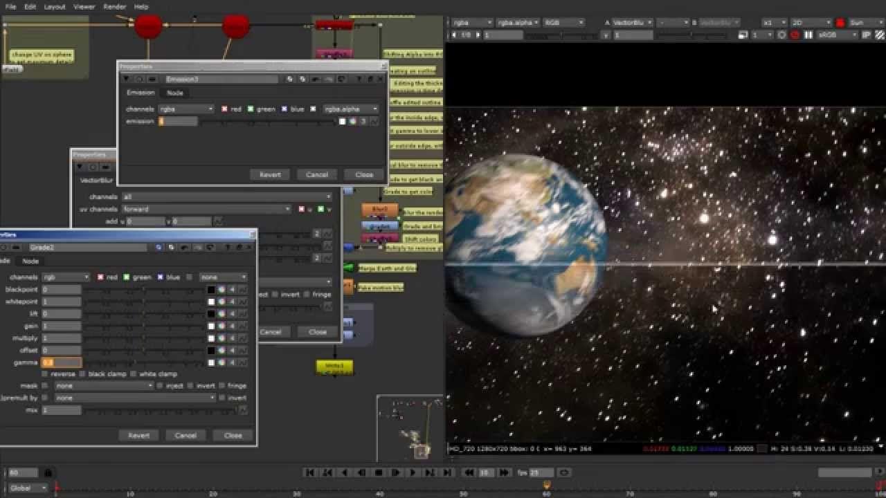 Nuke 3D compositing - Crash Course   TUTO_3D   Youtube