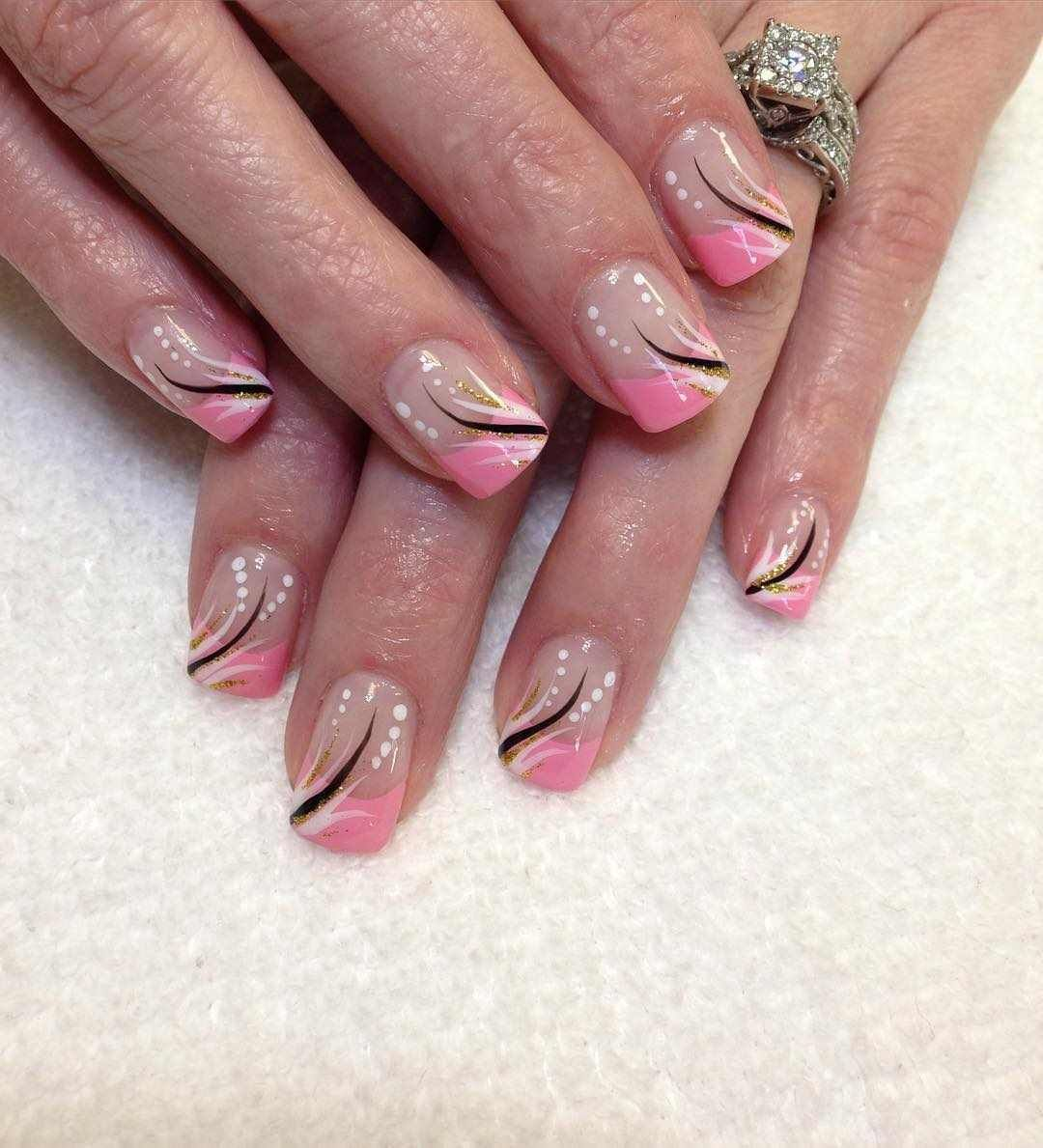 awesome gel nail design summer