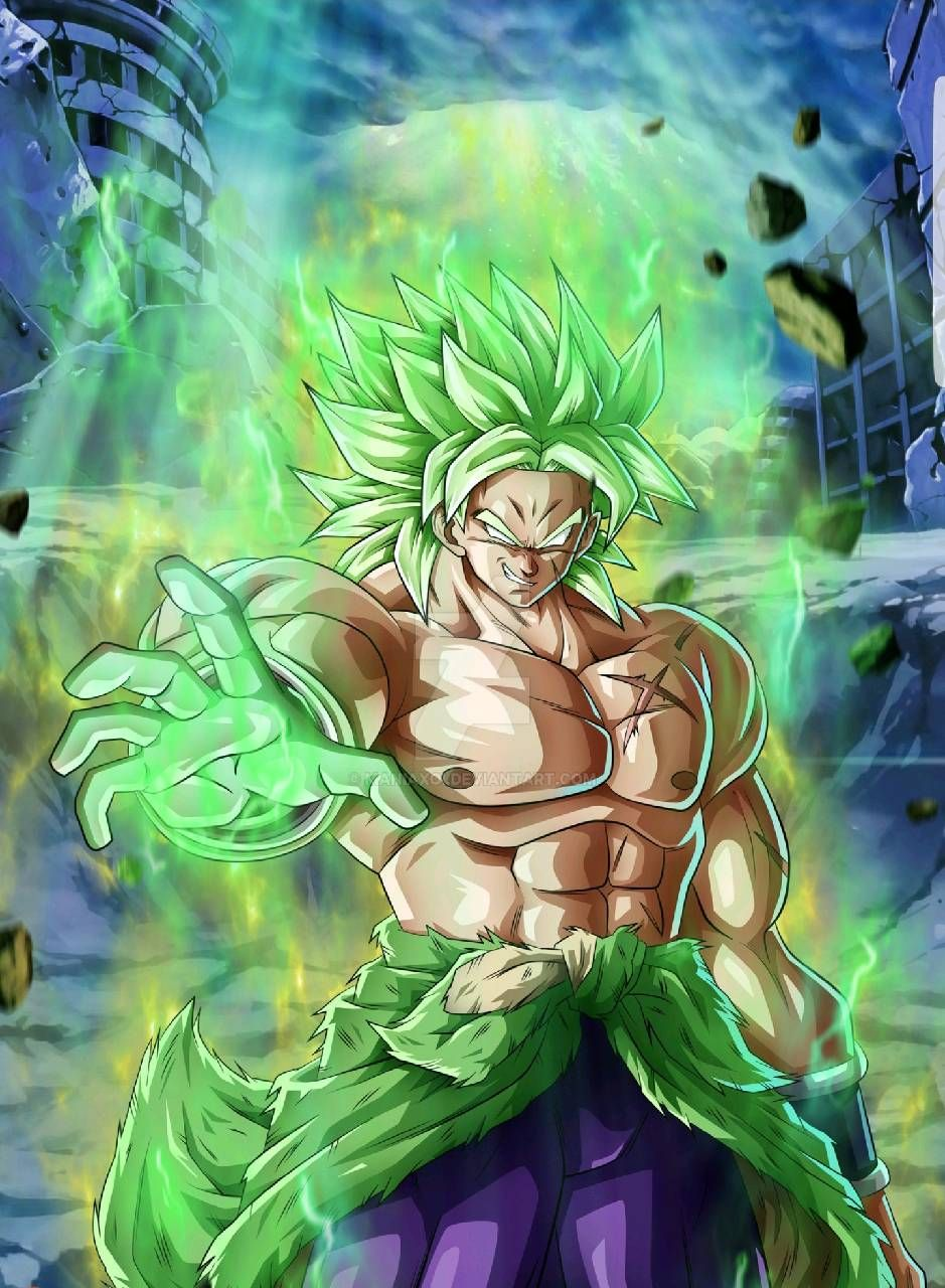 Download Broly New Movie Wallpaper By Silverbull735 6d Free On