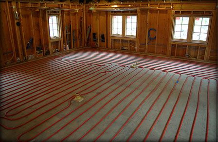Radiant Heat Systems And Kits Do It Yourself Floor