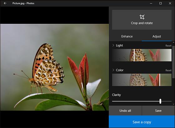 كيفية التعديل علي الصور باستخدام تطبيق Photo في ويندوز 10 Photo Apps Windows 10 Edit Your Photos