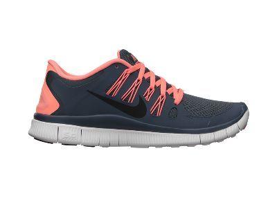 huge selection of 7d8f6 ba2dc Nike Free 5.0+ Women s Running Shoe -  100. Dark armory blue Armory  navy Atomic pink