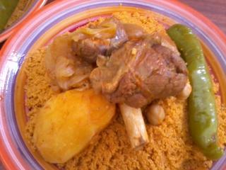 Couscous l 39 agneau plat recette tunisienne - Plan cuisine tunisienne ...