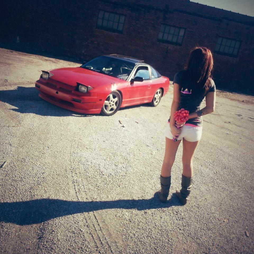 Nissan 240sx Girl