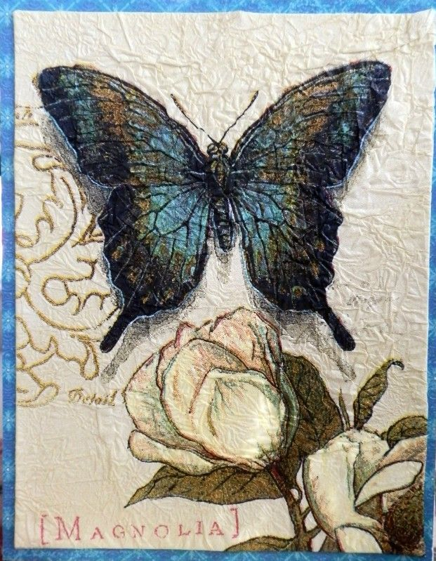 CAS422 - Winged Things by BobbiesGirl - Cards and Paper Crafts at Splitcoaststampers