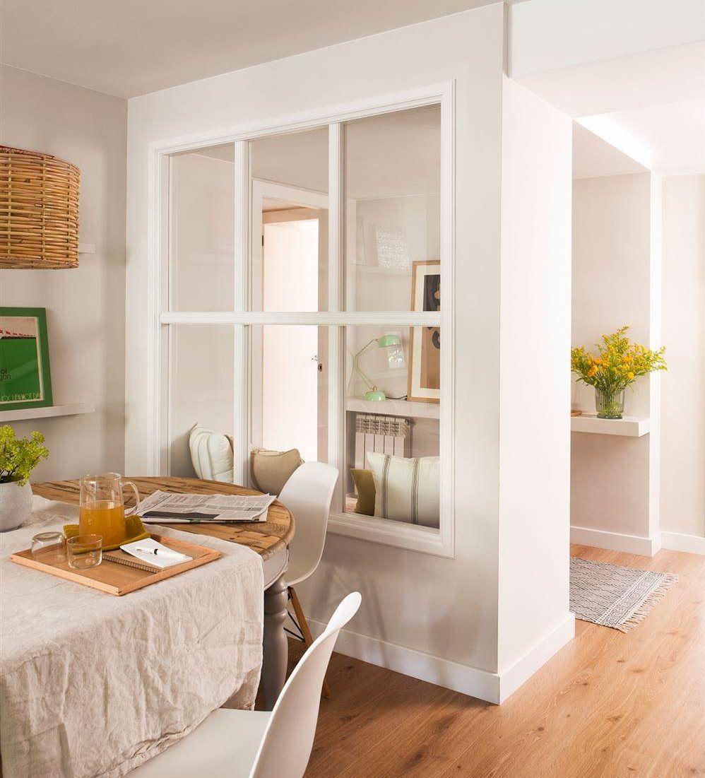 10 recibidores que te invitan a entrar en casa - Decorar una entrada estrecha ...