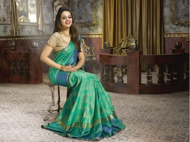 Bhavana for pulimoottil silks abhinava bridal collection the bhavana for pulimoottil silks abhinava bridal collection thecheapjerseys Gallery