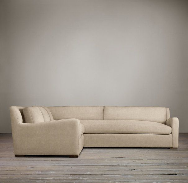 Restoration Hardware Belgian Slope Arm Upholstered Build Your Own Sectional : restoration hardware sectional sofa - Sectionals, Sofas & Couches