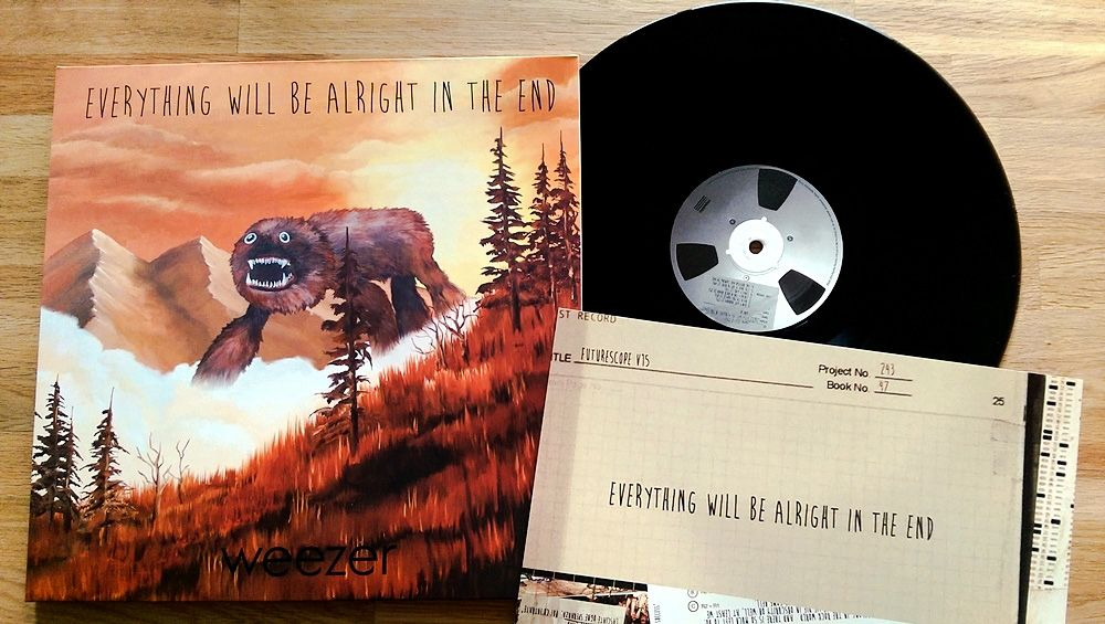Weezer Everything Will Be Alright In The End Weezer Everything Will Be Alright Vinyl Music