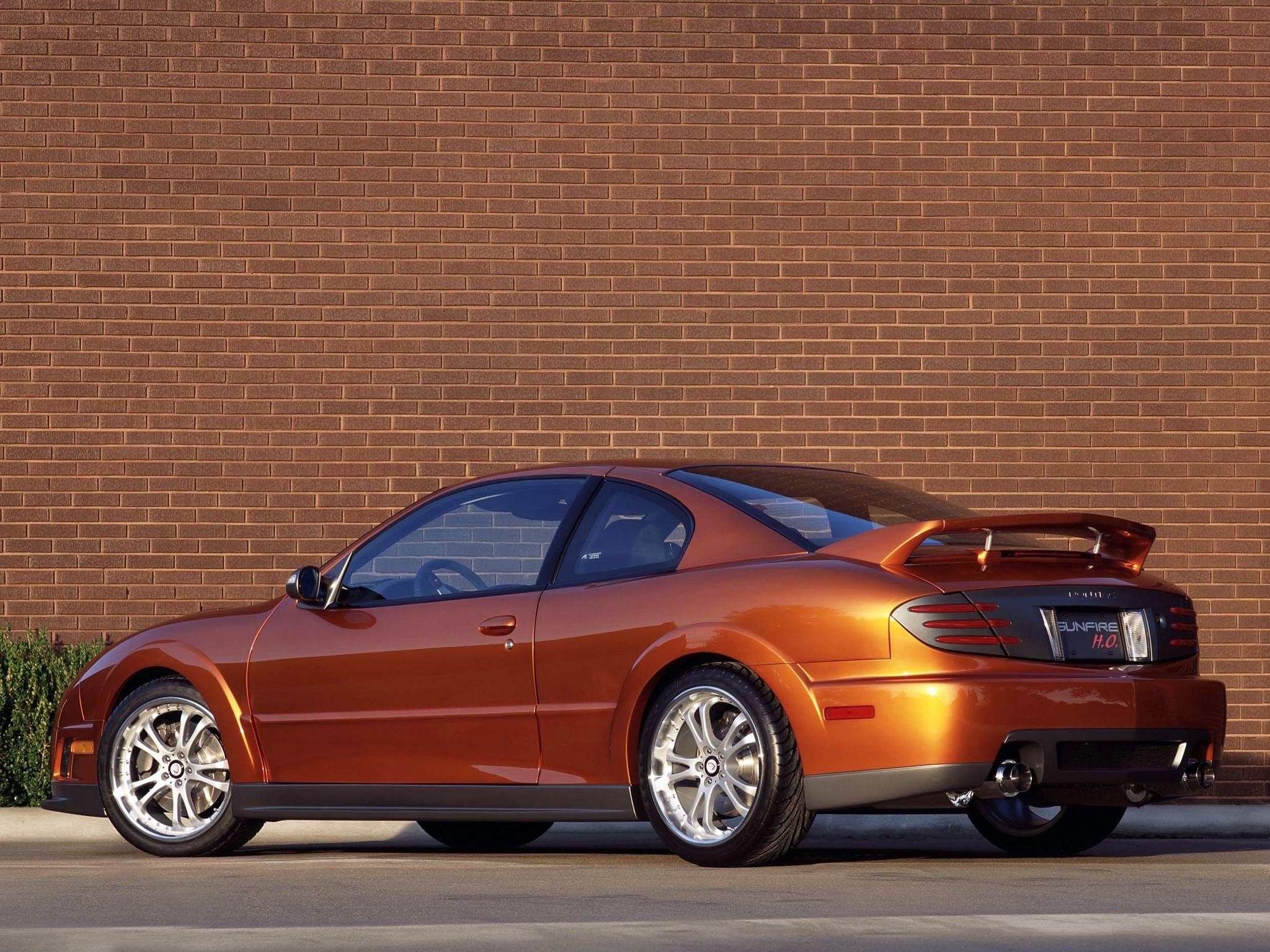 2001 Pontiac Sunfire Ho 2 4 Sema Car Pontiac Sunfire Pontiac Car