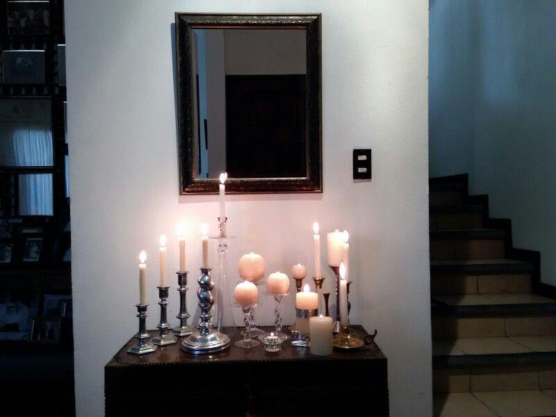 Un Rincon De Luz En Mi Casa Casitas Casas Velas